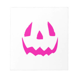 Happy Pink Halloween Note Pad