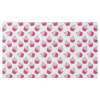 Happy Pink Heart Cupcakes - Sweet Bakery Pattern Assorted Chocolates