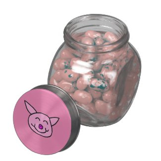 Happy Pink Pig - 25 Pack - Tuttie Fruttie