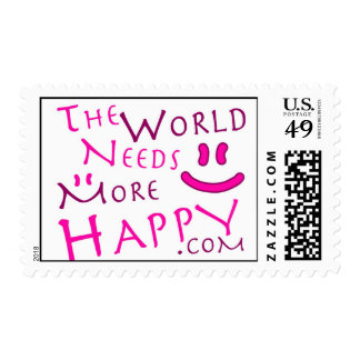 Happy-Pink Postage