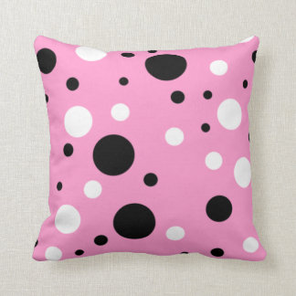 Happy Pink! Throw Pillow