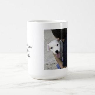 Happy Pit Puppy Coffee Mug, Coffee Mug