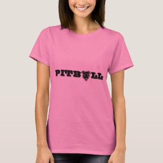 Happy Pitbull Logo Print - Proud Pitbull Owner T-Shirt