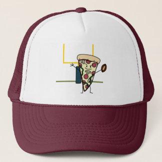 Happy Pizza Football Trucker Hat