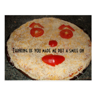 Happy Pizza! Postcard