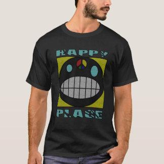 Happy Place Grunge Airbrush Art Tee