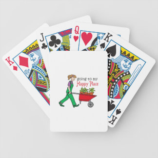 Happy Place Bicycle Playing Cards