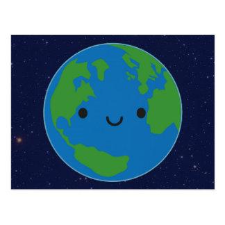 Happy Planet Earth Postcard