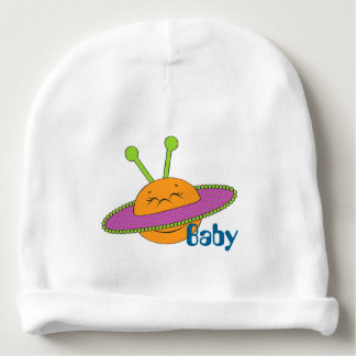 Happy Planet Personalized Baby Beanie