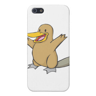 Happy Platypus Cartoon Covers For iPhone 5