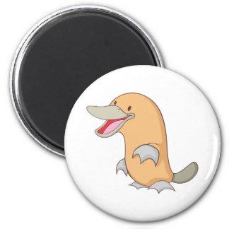 Happy Platypus Magnet