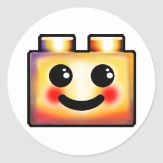 Happy Plugin Classic Round Sticker