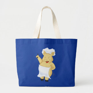 Happy Pointing Pig Chef Bag