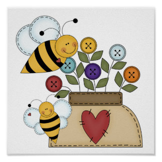 happy pollination poster