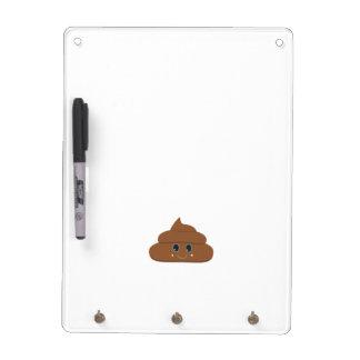 Happy poo dry erase board