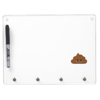 Happy poo dry erase whiteboard