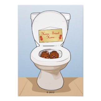 Happy Poos and Toilet Card