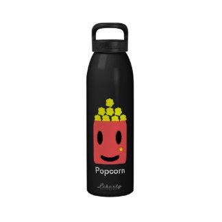 Happy Popcorn Water Bottle