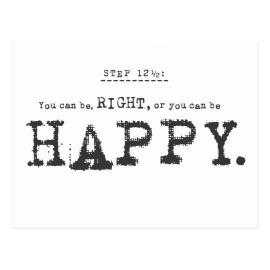 happy... postcard