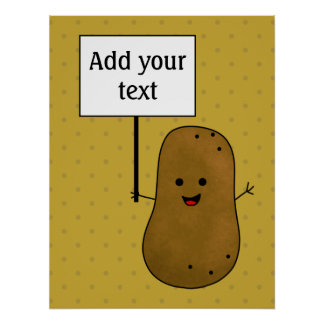 Happy Potato Poster