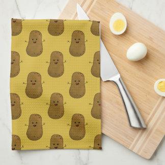 Happy Potato Towel