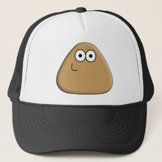 Happy Pou Trucker Hat