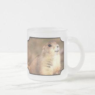 Happy Prairie dog frosted mug