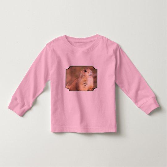 Happy Prairie dog girls shirt