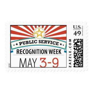 Happy Public Service Recognition Week Postage