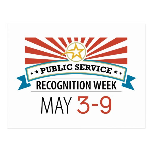 Happy Public Service Recognition Week Postcard