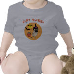 Happy Pugoween Tees for Kids and Babies