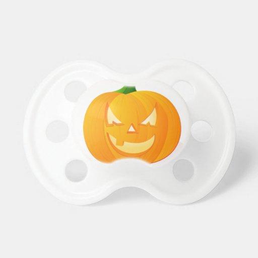 Happy Pumpkin Baby Pacifier