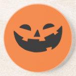 Happy Pumpkin Drink Coaster