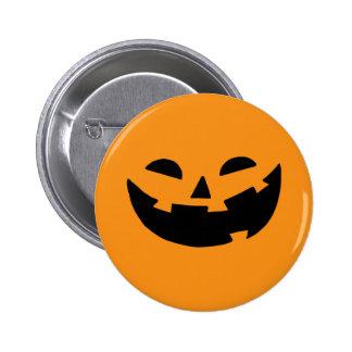 Happy Pumpkin Face Pin