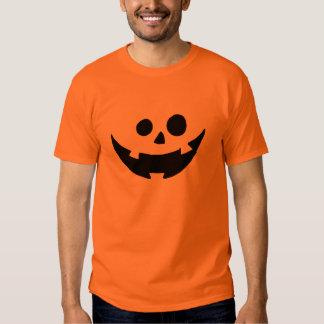 Happy Pumpkin Face Costume T Shirt