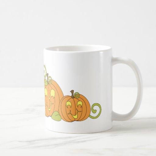 Happy Pumpkin Family Mug