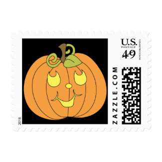 Happy Pumpkin Postage