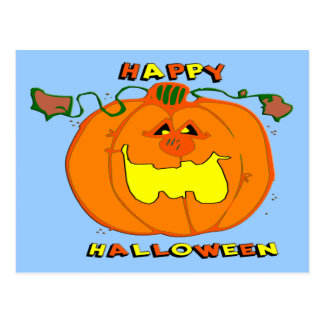 Happy Pumpkin Postcard