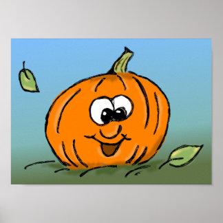 Happy Pumpkin Posters