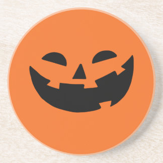 Happy Pumpkin Sandstone Coaster