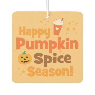 Happy Pumpkin Spice Season Car Air Freshener