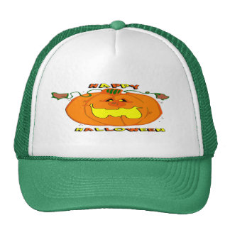 Happy Pumpkin Trucker Hat
