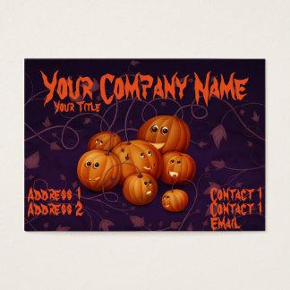 Happy Pumpkins Business Card