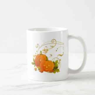 Happy Pumpkins Classic White Coffee Mug