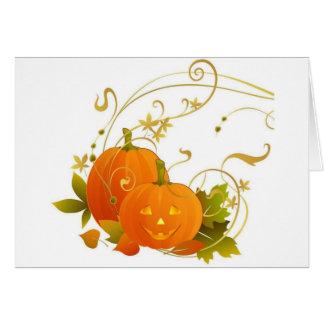 Happy Pumpkins Greeting Card