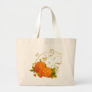 Happy Pumpkins Jumbo Tote Bag