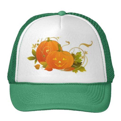 Happy Pumpkins Mesh Hats