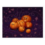 Happy Pumpkins Post Card
