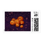 Happy Pumpkins Postage Stamps