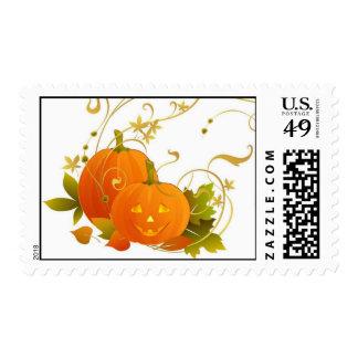 Happy Pumpkins Stamp